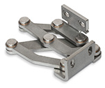 Stainless Steel-Multiple-joint hinges, inside, opening angle 180°
