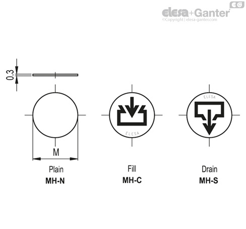 Mh labels with marks and symbols for oil plugs aluminium up to labels with marks and symbols for oil plugs aluminium up to 100c ccuart Image collections