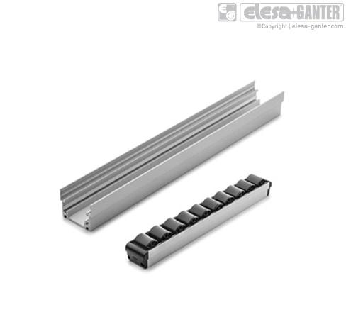 Verbindingsstukken voor aluminium profielen